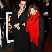 Premiere de Passievrucht, Loes Luca en dochter Nina