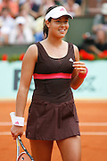 Roland Garros. Paris, France. June 5th 2007..1/4 Finals..Ana IVANOVIC against Svetlana KUZNETSOVA..