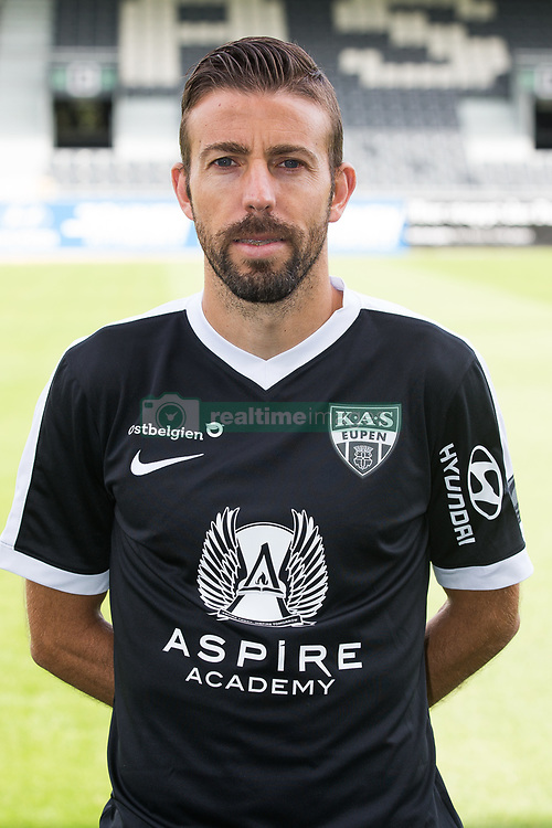 July 11, 2017 - Eupen, BELGIUM - Eupen's Luis Garcia poses for photographer at the 2017-2018 season photo shoot of Belgian first league soccer team KAS Eupen, Tuesday 11 July 2017 in Eupen. BELGA PHOTO BRUNO FAHY (Credit Image: © Bruno Fahy/Belga via ZUMA Press)
