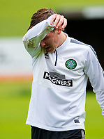 30/06/14<br /> CELTIC TRAINING<br /> AUSTRIA<br /> Celtic's Stefan Johansen is forced to finish training after picking up what seems to be a suspected injury.