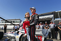 September 1, 2018 - Portland, Oregon, United Stated - WILL POWER (12) of Australia wins the pole award for the Portland International Raceway at Portland International Raceway in Portland, Oregon. (Credit Image: © Justin R. Noe Asp Inc/ASP via ZUMA Wire)