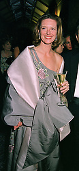 MRS MELISSA KNATCHBULL at a ball in London on 25th May 1999. MSM 48 wo
