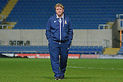 Bradford City Manager Stuart McCall during the EFL Trophy match between Oxford United and Bradford City at the Kassam Stadium, Oxford, England on 31 January 2017. Photo by Alan Franklin.