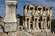 June 1, 2014 - The library in the ancient city of Ephesus (Turkish: Efes), located near the Aegean Sea in modern day Turkey, was one of the great cities of the Greeks in Asia Minor and home to the Temple of Artemis, one of the Seven Wonders of the World. Today, the ruins of Ephesus are a major tourist attraction, especially for travelers on Mediterranean cruises. Ephesus is also a sacred site for Christians due to its association with several biblical figures, including St. Paul, St. John the Evangelist and the Virgin Mary.
