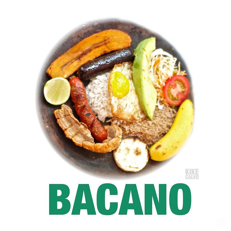 Bandeja Paisa : Bacano