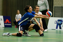 20170125 NED: Beker, Sliedrecht Sport - Seesing Personeel Orion: Sliedrecht<br />Tristan Keizer (2) of Sliedrecht Sport, Yorick de Groot (5) of Sliedrecht Sport <br />©2017-FotoHoogendoorn.nl / Pim Waslander
