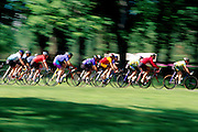 Sommerville Race. Cyclists Racing