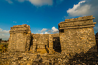 Tulum archaeological site, Riviera Maya, Mexico