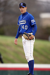15 February 2007: Ryan Tatusko. Indiana State Sycamores gave up the first game of the double-header by a score of 16-6 to the Illinois State Redbirds at Redbird Field on the campus of Illinois State University in Normal Illinois.