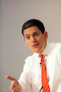 David Milliband MP speaking at the CBI Action for Jobs summit London