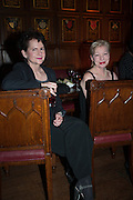 MARI MACKENZIE; VERONICA QUILLIGAN, The Almeida Theatre  celebrates Mike Attenborough's 11 brilliant years as Artistic Director. Middle Temple Hall,<br /> Middle Temple Lane, London, EC4Y 9AT