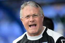 Tranmere Rovers Manager, Micky Adams looks on - Photo mandatory by-line: Richard Martin-Roberts/JMP - Mobile: 07966 386802 - 28/03/2015 - SPORT - Football - Birkenhead - Prenton Park - Tranmere Rovers v AFC Wimbledon - Sky Bet League Two