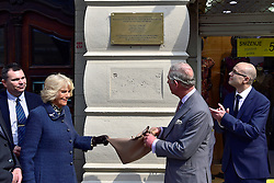 17.03.2016, Beograd, SRB, der Britische Kronprinz Charles und seine Frau Camilla besuchen Serbien, im Bild British Crown Prince Charles and his wife Camilla, the Duchess of Cornwall, are visiting Serbia as part of a regional tour that includes Croatia, Serbia, Montenegro and Kosovo. They participated in the cultural program in the Catholic churchyard and opened memorial plaque for British humanitarian workers. EXPA Pictures © 2016, PhotoCredit: EXPA/ Pixsell/ Srdjan Ilic<br /> <br /> *****ATTENTION - for AUT, SLO, SUI, SWE, ITA, FRA only*****