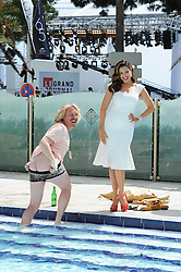 Keith Lemon & Kelly Brook attends a photocall during the 65th Annual Cannes Film Festival at the Martinez Hotel on May 19, 2012 in Cannes, France...Photo Ki Price.Keith Lemon & Kelly Brook attend a photocall during the 65th Annual Cannes Film Festival at the Martinez Hotel on May 19, 2012 in Cannes, France. Photo Ki Price/i-Images