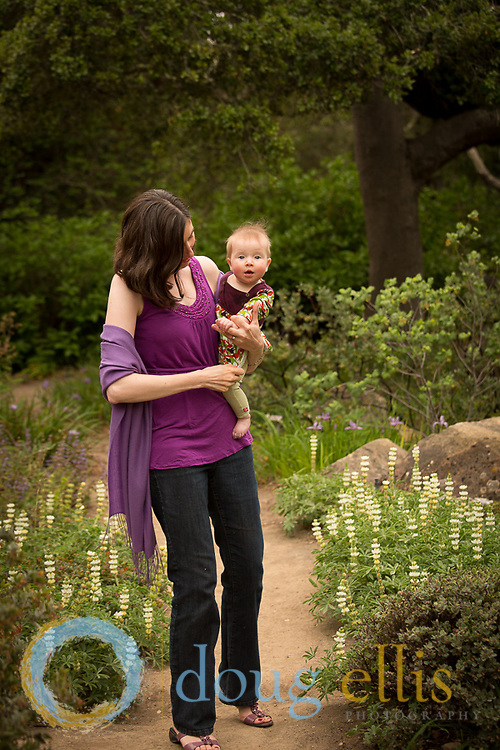 Family portraits for Stoll Family, Santa Barbara CA