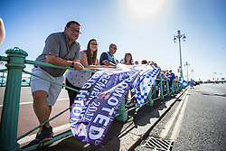 Crowds start to gather at Brighton Pier - Mandatory by-line: Jason Brown/JMP - 14/05/17 - FOOTBALL - Brighton and Hove Albion, Sky Bet Championship 2017 - Brighton and Hove Albion Promotion Parade