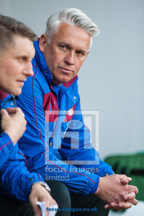 Scunthorpe United manager Nick Daws during the Sky Bet League 1 Play-Off Semi-Final match at the New York Stadium, Rotherham<br /> Picture by Matt Wilkinson/Focus Images Ltd 07814 960751<br /> 16/05/2018