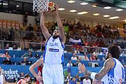 DESCRIZIONE : Capodistria Koper Slovenia Eurobasket Men 2013 Preliminary Round Russia Grecia Russia Greece<br /> GIOCATORE : Yannis Bourousis<br /> CATEGORIA : Rimbalzo<br /> SQUADRA : Grecia<br /> EVENTO : Eurobasket Men 2013<br /> GARA : Russia Grecia Russia Greece<br /> DATA : 05/09/2013<br /> SPORT : Pallacanestro<br /> AUTORE : Agenzia Ciamillo-Castoria/Max.Ceretti<br /> Galleria : Eurobasket Men 2013 <br /> Fotonotizia : Capodistria Koper Slovenia Eurobasket Men 2013 Preliminary Round Russia Grecia Russia Greece<br /> Predefinita :