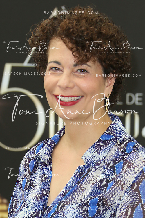 "MONTE-CARLO, MONACO - JUNE 10:  Rola Bauer attends ""Crossing Lines"" Photocall at the Grimaldi Forum on June 10, 2014 in Monte-Carlo, Monaco.  (Photo by Tony Barson/FilmMagic)"