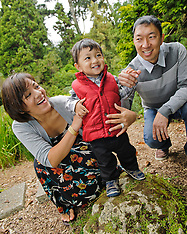 Fujii Family Portraits | San Francisco Botanical Garden Golden Gate Park