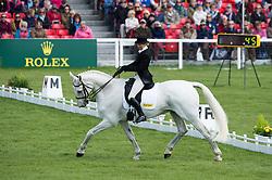 Milne Home Louisa, (GBR), King Eider<br /> Dressage <br /> Mitsubishi Motors Badminton Horse Trials - Badminton 2015<br /> © Hippo Foto - Jon Stroud<br /> 07/05/15