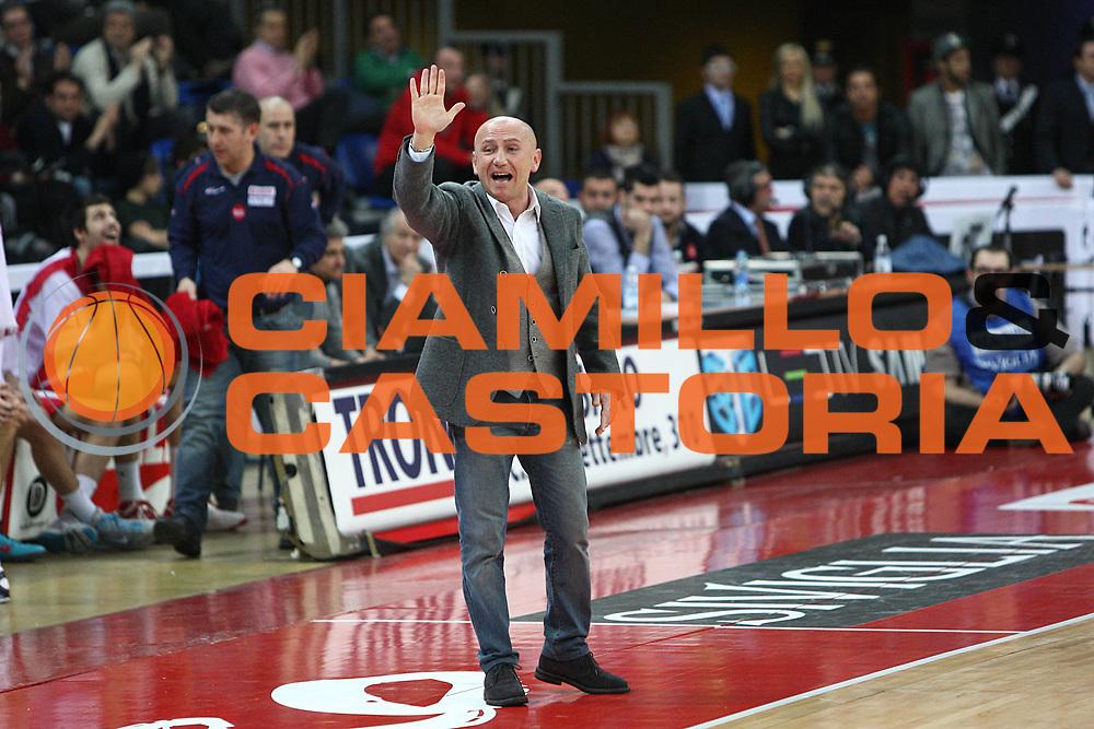 DESCRIZIONE : Pesaro Lega A 2010-11 Scavolini Siviglia Pesaro Banca Tercas Teramo<br /> GIOCATORE : Luca Dalmonte<br /> SQUADRA : Scavolini Siviglia Pesaro <br /> EVENTO : Campionato Lega A 2010-2011<br /> GARA : Scavolini Siviglia Pesaro Banca Tercas Teramo<br /> DATA : 27/02/2011<br /> CATEGORIA : coach<br /> SPORT : Pallacanestro<br /> AUTORE : Agenzia Ciamillo-Castoria/C.De Massis<br /> Galleria : Lega Basket A 2010-2011<br /> Fotonotizia : Pesaro Lega A 2010-11 Scavolini Siviglia Pesaro Banca Tercas Teramo<br /> Predefinita :