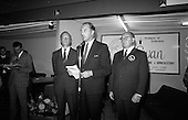 1966 - George Colley TD opens the Irish Furniture Fair.    C722.