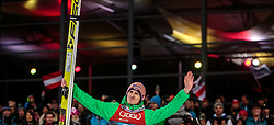 06.01.2016, Paul Ausserleitner Schanze, Bischofshofen, AUT, FIS Weltcup Ski Sprung, Vierschanzentournee, Bischofshofen, XXX, im Bild Severin Freund (GER) // Severin Freund of Germany celebrate his 2nd place on overall podium of the Four Hills Tournament of FIS Ski Jumping World Cup at the Paul Ausserleitner Schanze in Bischofshofen, Austria on 2016/01/06. EXPA Pictures © 2016, PhotoCredit: EXPA/ JFK