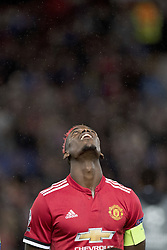 September 12, 2017 - Manchester, England - Manchester, Fussball UEFA Champions League, Manchester United - FC Basel. 12.9. 2017. Uniteds Paul Pogba. (Credit Image: © Daniel Teuscher/EQ Images via ZUMA Press)