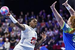 France player Grace Zaadi  during the Women's european handball chanmpionship preliminary round, Slovenia vs France. Nancy, Fance -02/12/2018//POLEMILE_01POL20181202NAN019/Credit:POL EMILE / SIPA/SIPA/1812021731