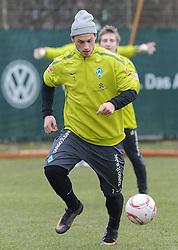 26.02.2011, Trainingsgelaende Werder Bremen, Bremen, GER, 1.FBL, Training Werder Bremen, im Bild Marko Arnautovic (Bremen #7)   EXPA Pictures © 2011, PhotoCredit: EXPA/ nph/  Frisch       ****** out of GER / SWE / CRO  / BEL ******