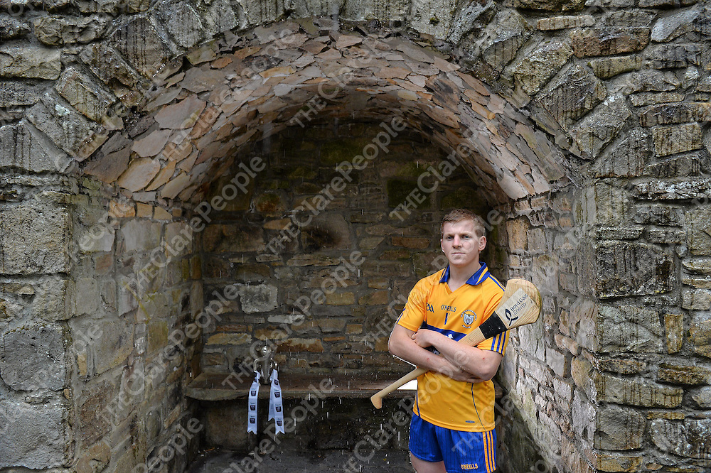 31 July 2013; Clare player Podge Collins was in Mountshannon, Co. Clare, today ahead of the Bord Gáis Energy Munster Hurling U-21 Final at Semple Stadium, Thurles on Wednesday 7th August at 7.30pm. The match will also be shown live on TG4 with fans able to vote for their man of the match using the hBGE hashtag on Twitter. Mountshannon Hotel, Mountshannon, Co. Clare. Picture credit: Matt Browne / SPORTSFILE *** NO REPRODUCTION FEE ***