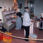 Huizer winkeltje in het Vooranker Huizen nav expositie Vrouwen en Werk