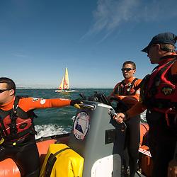 Activit&eacute; estivale des nageurs sauveteurs de la Soci&eacute;t&eacute; Nationale du Secours en Mer (SNSM) au port de Pornichet. Patrouilles en mer, surveillance des plages et op&eacute;ration de remorquage d'&eacute;pave.<br /> Ao&ucirc;t 2010 / Pornichet (44) / FRANCE<br /> Voir le reportage complet (116 photos) http://sandrachenugodefroy.photoshelter.com/gallery/2010-08-SNSM-Pornichet-Complet/G0000NSY2xCogJBM/C0000yuz5WpdBLSQ