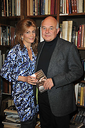 ROLF & MARYAM SACHS at a party to celebrate the publication of Maryam Sach's novel 'Without Saying Goodbye' held at Sotheran's Bookshop, 2 Sackville Street, London on 10th November 2009.