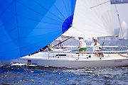 Goose, J80 Class, racing during Bacardi Newport Sailing Week, day 3.