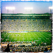 Scene from Green Bay Packers preseason game against Indianapolis Colts. (Sam Lucero photo)