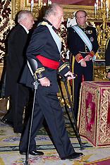 JAN 29 2013 King Juan Carlos of Spain