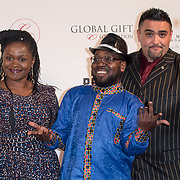 Arrive The Nelson Mandela Foundation hosts dinner in memory of Nelson Mandela on what would have been the day before his 100 birthday on 24 April 2018 at Rosewood Hotel, London, UK.