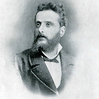 Olindo Guerrini (14 October 1845 - 21 October 1916) <br /> Italian poet who also published under the pseudonyms Lorenzo Stecchetti and Argia Sbolenfi<br /> <br /> Archive of Giovanni Giovannetti/Effigie/Writer Pictures <br /> <br /> NO ITALY, NO AGENCY SALES