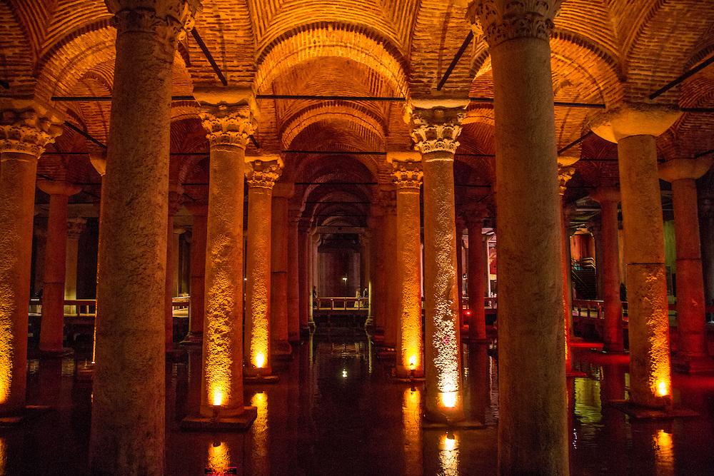 Basilica Cistern, Şeftali Sokak, Istanbul, Turkey
