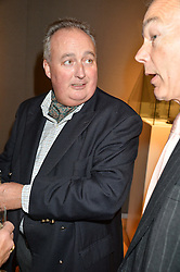 The 11th DUKE OF RUTLAND at a party to celebrate the publication of Capability Brown & Belvoir - Discovering a lost Landscape by The Duchess of Rutland, held at Christie's, 8 King Street, St.James, London on 7th October 2015.