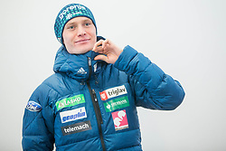 Tilen Bartol during press conference of Slovenian Nordic Ski team before new season 2017/18, on November 14, 2017 in Gorenje, Ljubljana - Crnuce, Slovenia. Photo by Vid Ponikvar / Sportida