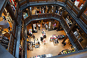 Liberty shop interior London