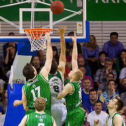 20130517: SLO, Basketball - Final of Telemach League, KK Krka vs KK Union Olimpija
