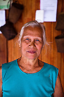 The wife of the Chief at Nanga Sumpa Longhouse had incredibly beautiful skin that made her look years younger than her 75 years.
