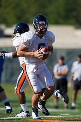 Virginia quarterback Marc Verica (6).  The Virginia Cavaliers football team during an open practice on August 9, 2008 at the University of Virginia's football turf field in Charlottesville, VA.