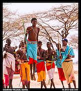 Higher Jump, More Likely To Catch A Bride<br /> Outside Samburu National Reserve, Kenya<br /> September 2012
