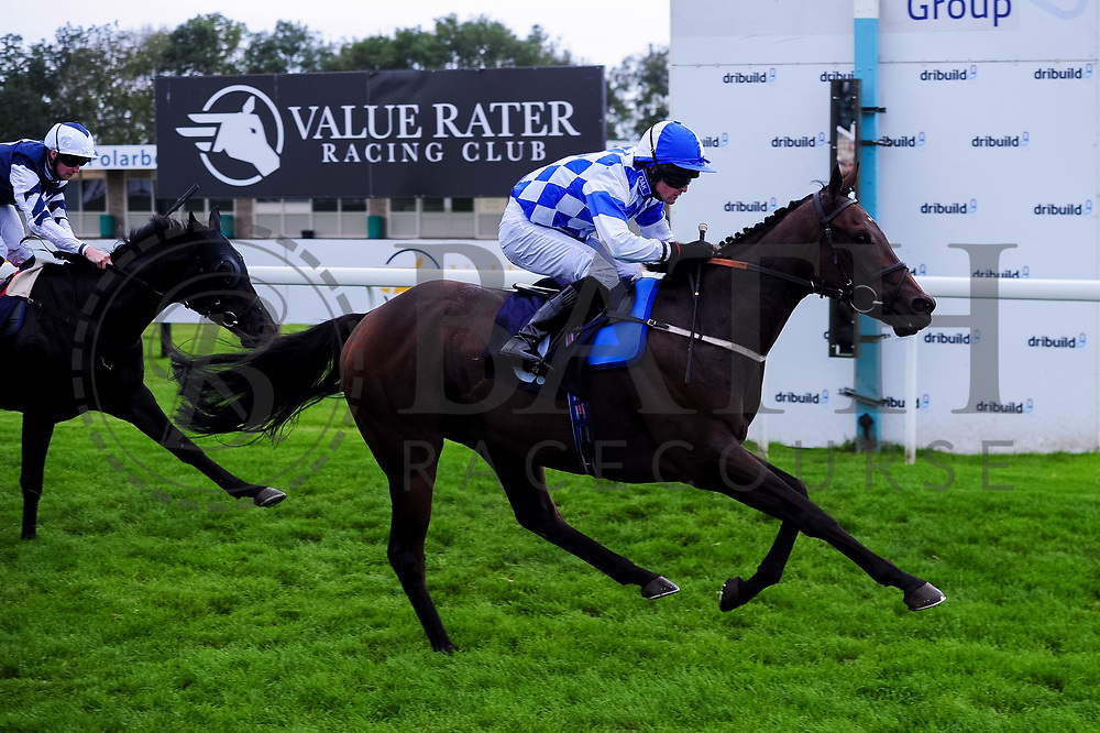 Mandocello ridden by Charlie Bennett and trained by B R Millman, Debbonair ridden by Jack Mitchell and trained by H Palmer,  - Ryan Hiscott/JMP - 30/09/2019 - PR - Bath Racecourse - Bath, England - Race Meeting at Bath Racecourse