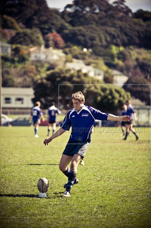 KPMG Wellington, Firm of Origin rugby tournament, September 2011.